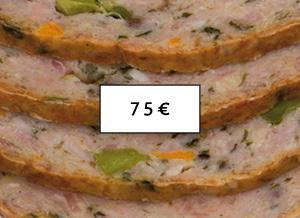 Pacco Scorta 75 - pollo, tacchino, coniglio a Piscina(Torino)